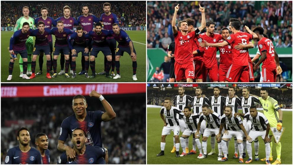 Mengapa Barcelona, Bayern, Juventus, dan PSG, Mampu Menguasai Liga Domestik?