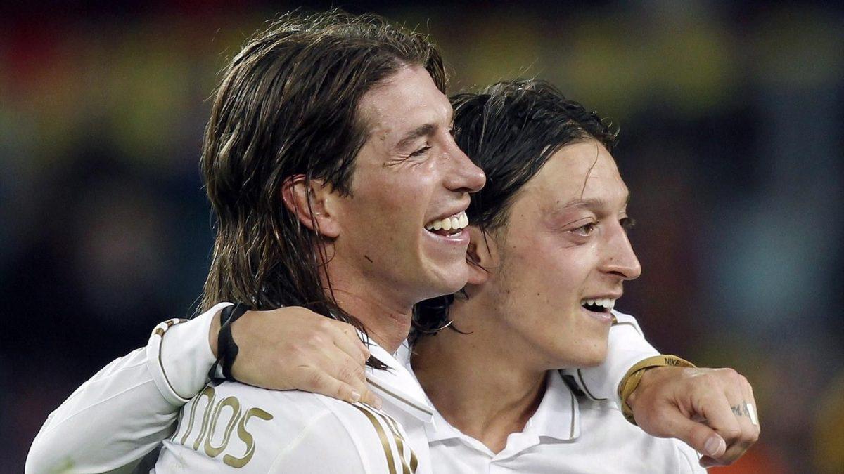 Kisah Persahabatan Sergio Ramos dan Mesut Ozil