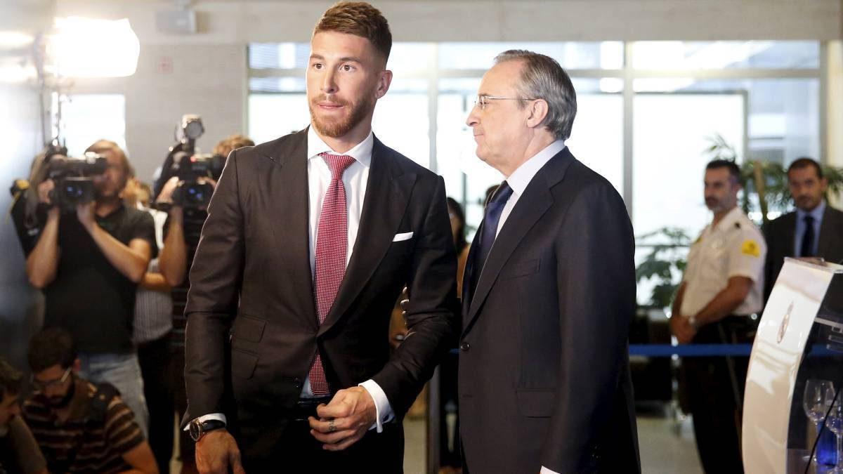 Kisah Tragis Florentino Perez dan Sergio Ramos Setelah 14 Tahun Bersama