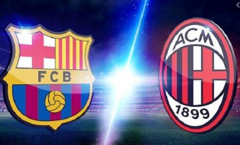 Mengapa ada bendera Inggris di Logo AC Milan dan Barcelona?