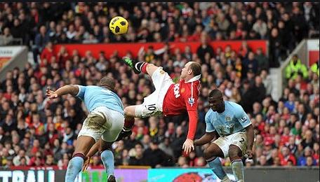 Mengenang Gol Salto Spektakuler Wayne Rooney Ke Gawang Manchester City