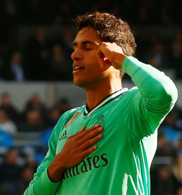 Momen : Apa Maksud Dari Selebrasi Varane Di Laga vs Espanyol ?