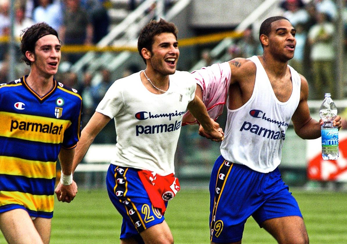 Dongeng Monumental Adrian Mutu dan Adriano Leite Di Parma